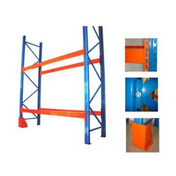 Warehouse Metal Push-Back Pallet Storage Rack