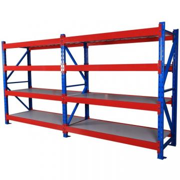 Custom duty supermarket metal display shelving units