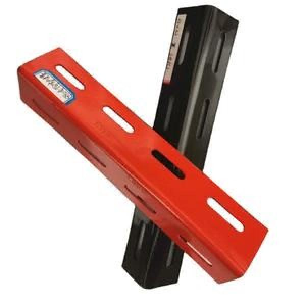 powder coated galvanized unequal and equal Steel slotted angle bar,slotted iron angle #2 image