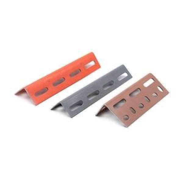 powder coated galvanized unequal and equal Steel slotted angle bar,slotted iron angle #3 image