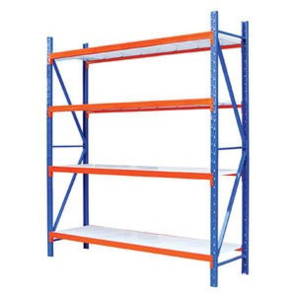 Heavy duty pallet racking with step beam for warehouse carton storage #1 image