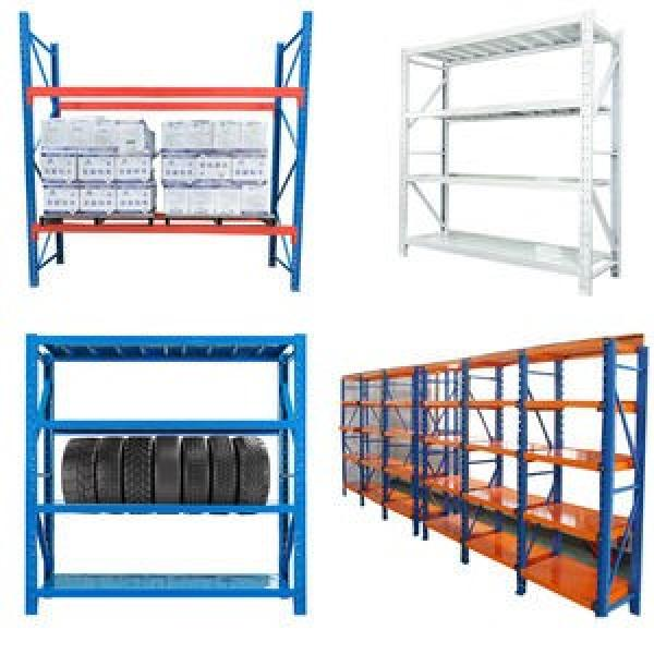 Industrial Galvanized Shelving System for Warehouse Storage #2 image