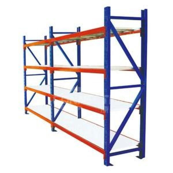 Adjustable Commercial Warehouse Heavy Duty Racking System Boltless Angle Shelving #3 image