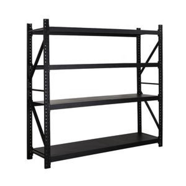 heavy duty metal warehouse steel pallet shelf industrial push back rack shelving system for garage shelving #2 image