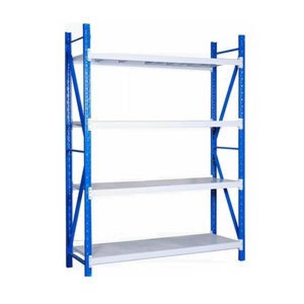 heavy duty metal warehouse steel pallet shelf industrial push back rack shelving system for garage shelving #3 image