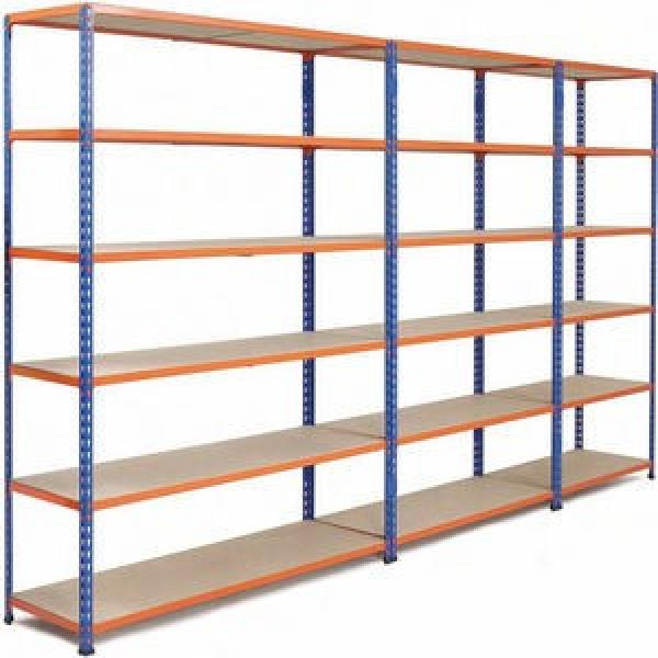 Heavy duty 300kg per layer metal warehouse storage pallet rack for industrial #1 image