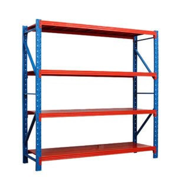 Heavy duty 300kg per layer metal warehouse storage pallet rack for industrial #2 image