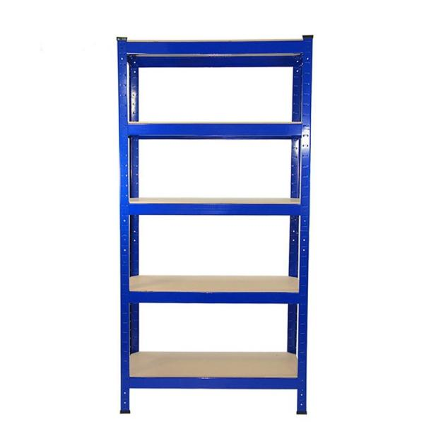 Hot Selling Qualified adjustable 6 shelf stainless steel metal display & storage shelving rack #2 image