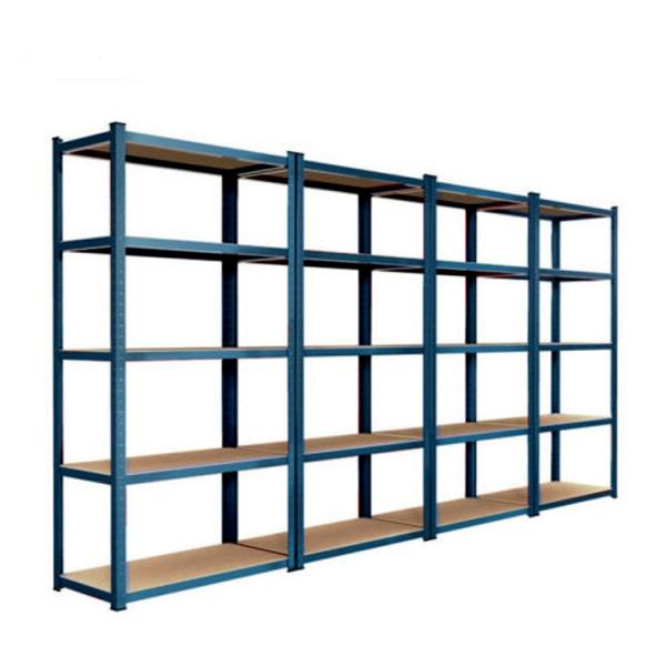 Hot Selling Qualified adjustable 6 shelf stainless steel metal display & storage shelving rack #3 image