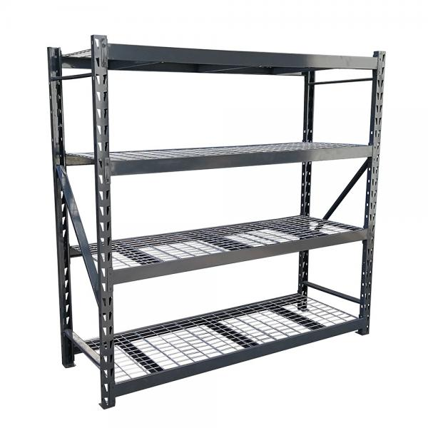 Storage Rack Floor Standing Boltless Shelving Adjustable Utility Shelves for Home, Garage, Warehouse #2 image