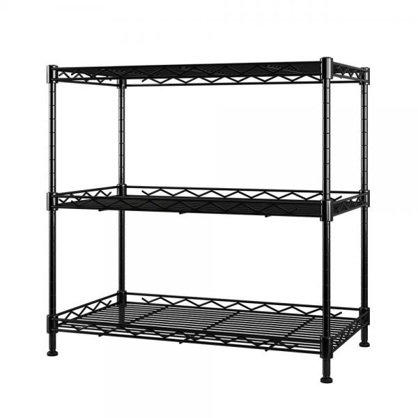 Wire shelving with Adjustable feet lowes stainless steel shelving nsf Powder Coating metal shelving #1 image