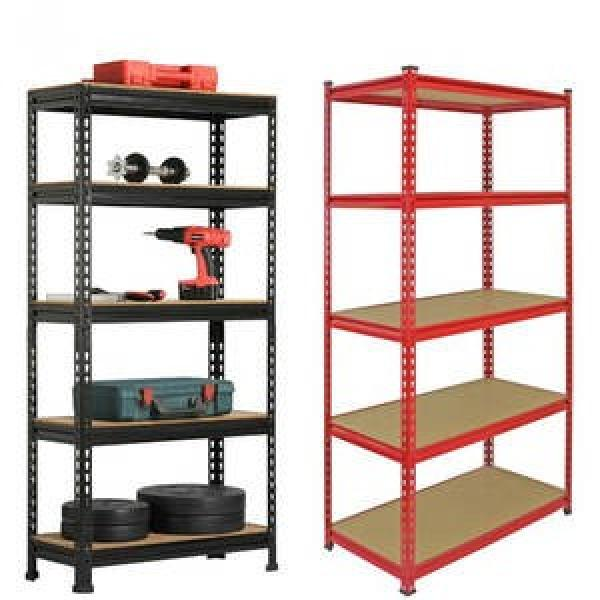 heavy duty metal warehouse steel pallet shelf industrial push back rack shelving system for garage shelving #1 image