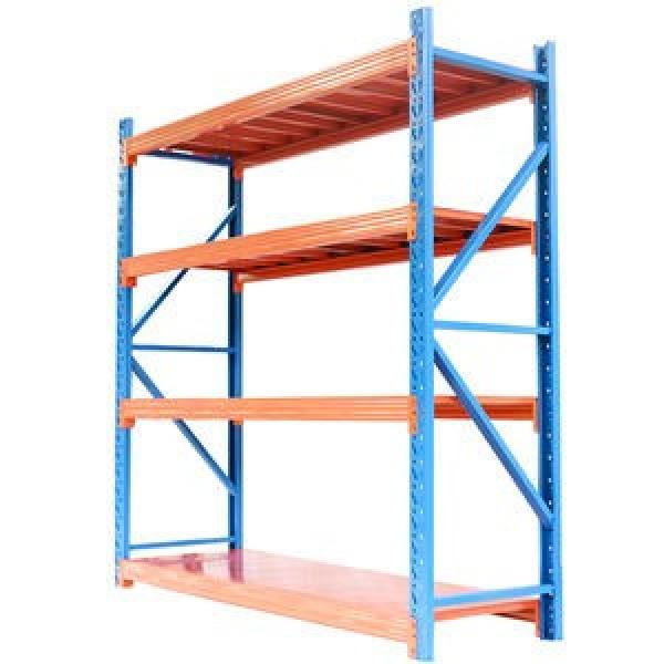 High standard in quality heavy duty pallet rack shelving systems #3 image