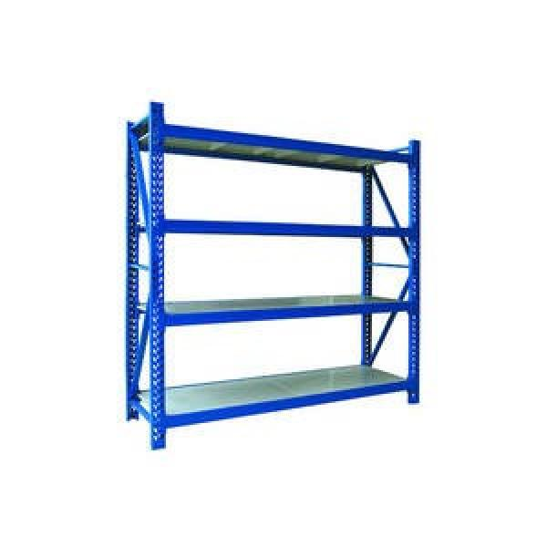 Adjustable Commercial Warehouse Heavy Duty Racking System Boltless Angle Shelving #1 image