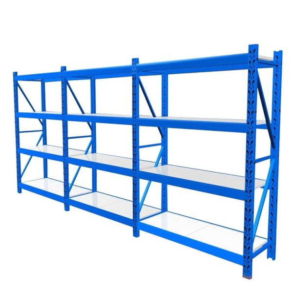 Chinese supplier medium duty steel fabric roll shelf racks with ISO CE certificate #3 image
