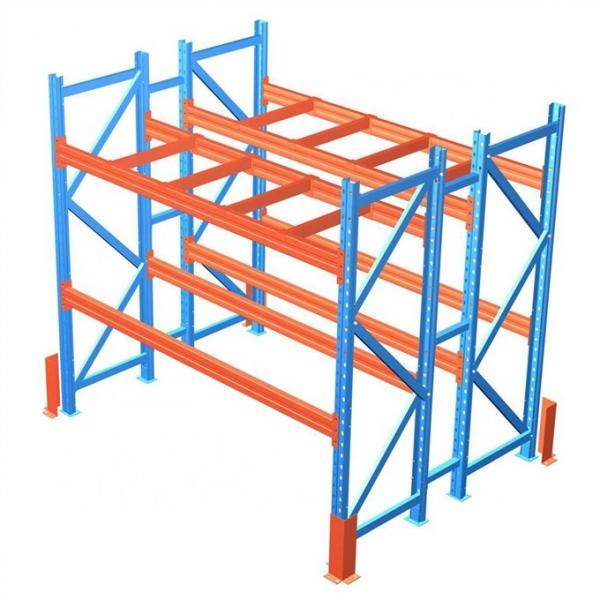 integrated industrial shelving rack with high quality and heavy duty capacity #3 image