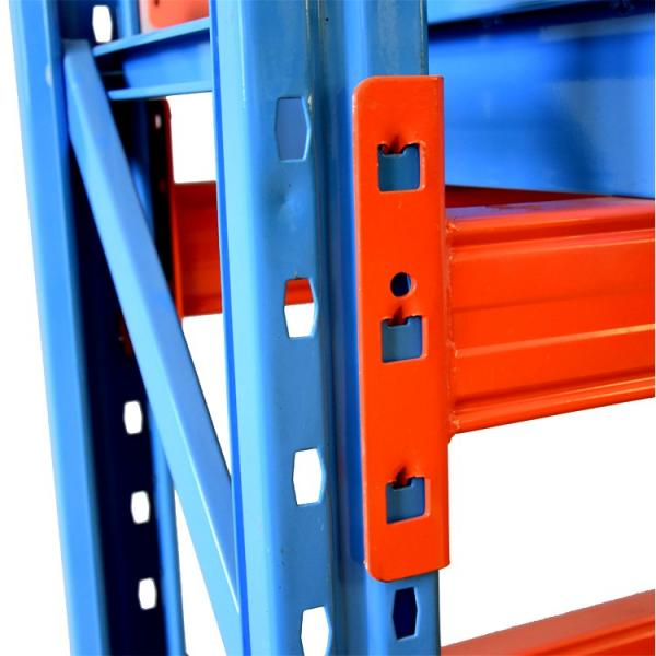 Wholesale Hoifat industrial grade commercial warehouse pallet heavy duty metal upright frame garage rack wire shelving #3 image