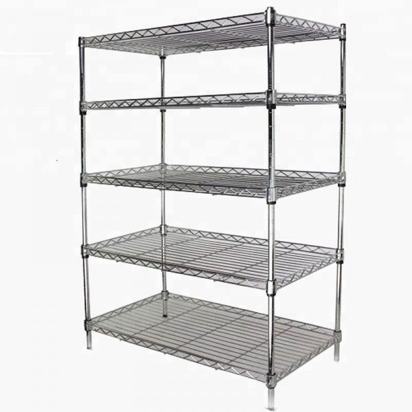 Storage Rack Floor Standing Boltless Shelving Adjustable Utility Shelves for Home, Garage, Warehouse #3 image